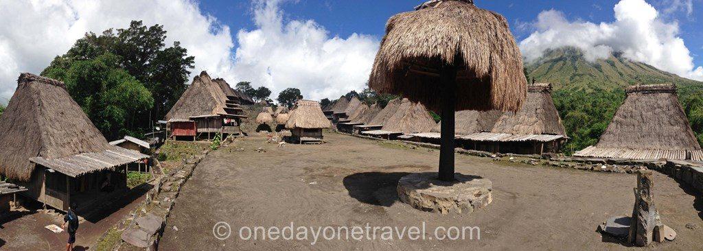Bena village Flores Indonésie