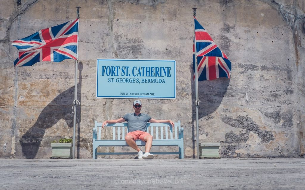 fort Sainte Catherine Bermudes