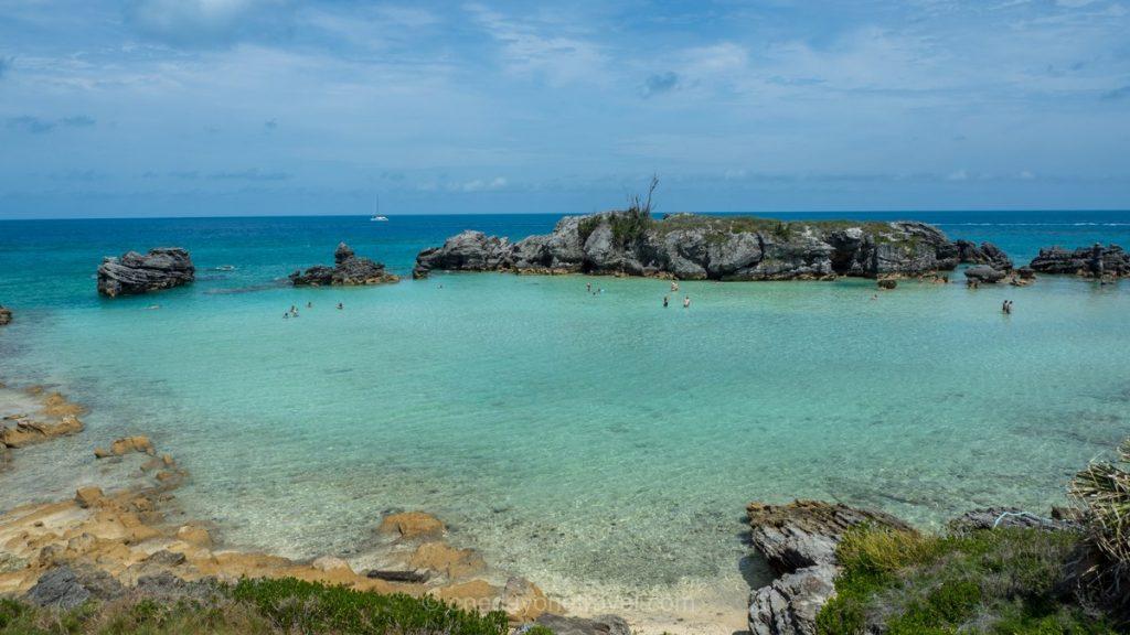 Bermudes piscine naturelle