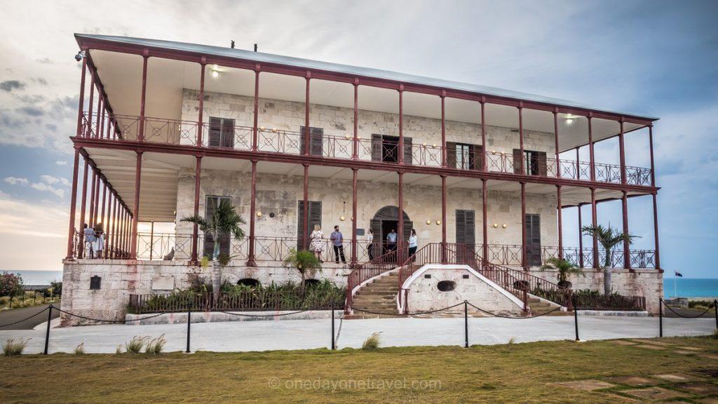 Bermudes maison du commissaire