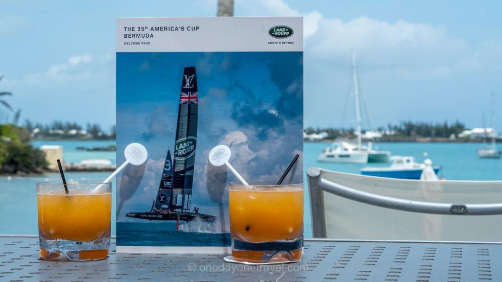 cocktails aux Bermudes