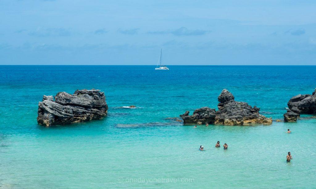 Bermudes mer turquoise
