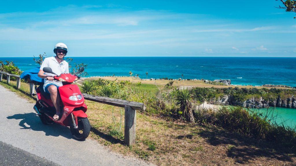 Louer un scooter aux Bermudes