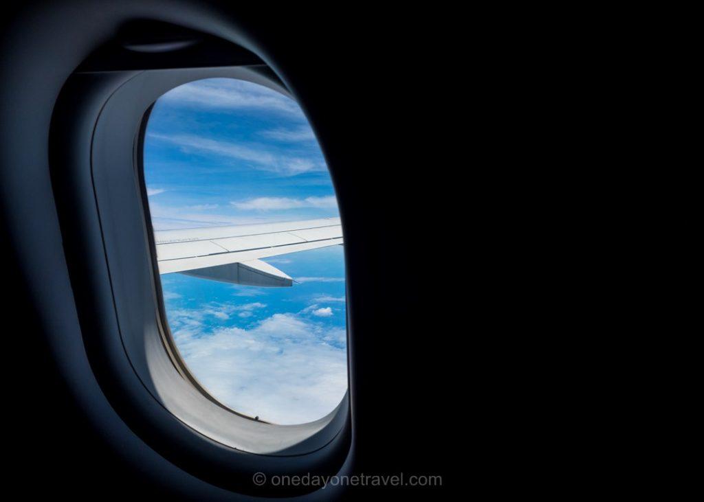 hublot voyage vol avion nuages