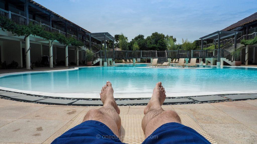 Bluewater piscine Panglao Philippines