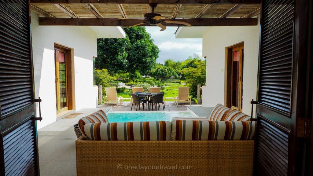 Bluewater Panglao villa de rêve Philippines