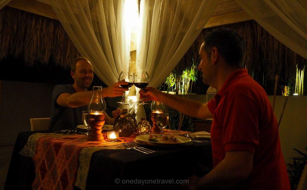 Bluewater Panglao diner Franck Richard