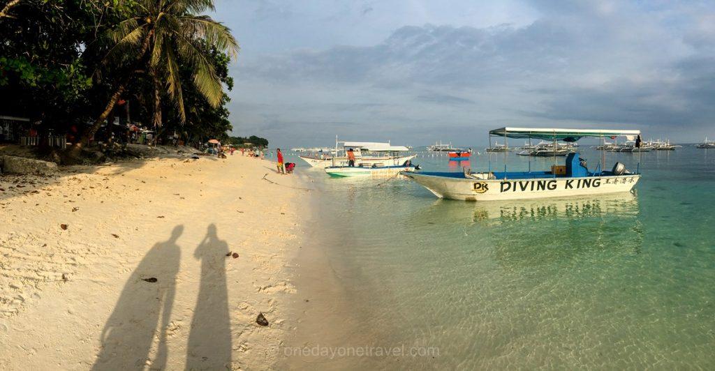 Panglao Alona beach plage