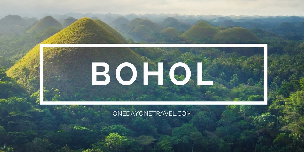 Bohol blog voyage Philippines chocolate hills