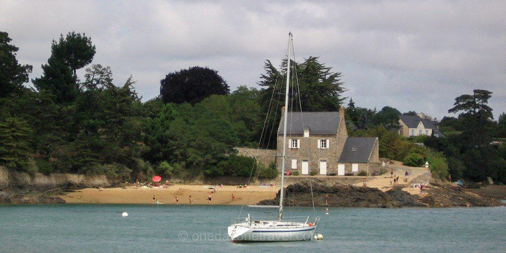 Bretagne maison rance côte d'émeraude