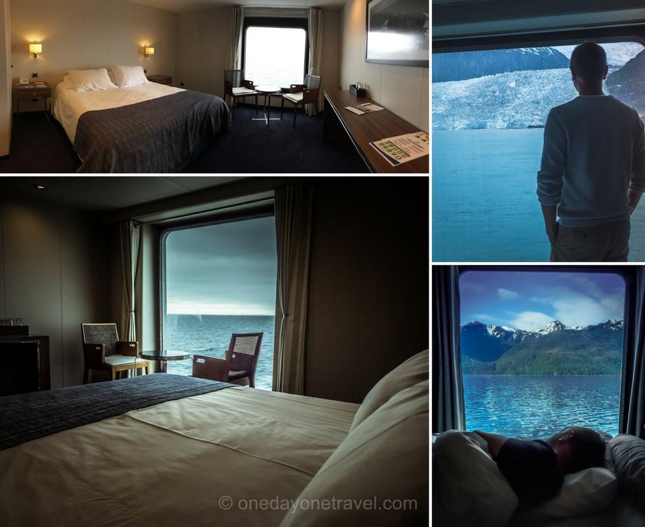 Cabine bateau Australis croisiere Patagonie blog voyage OneDayOneTravel