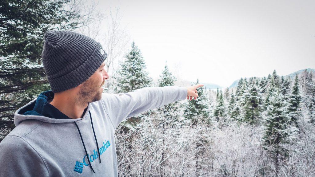 Visiter le Québec neige
