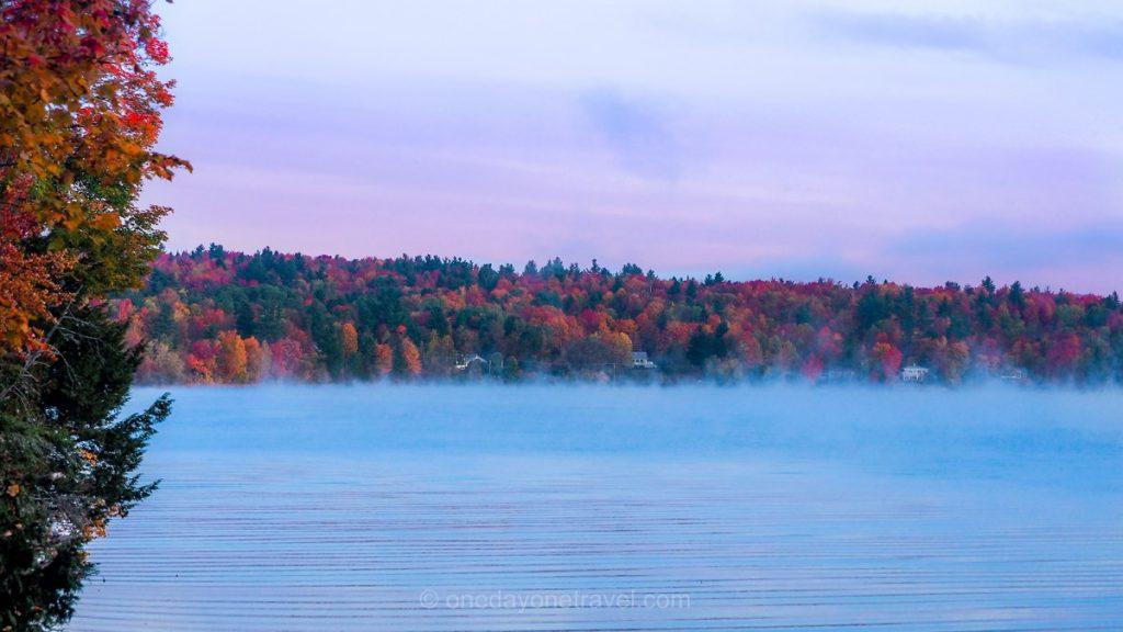 automne dans les cantons de l'est