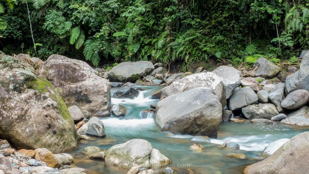 Casaroro rivière Ile de Negros Philippines