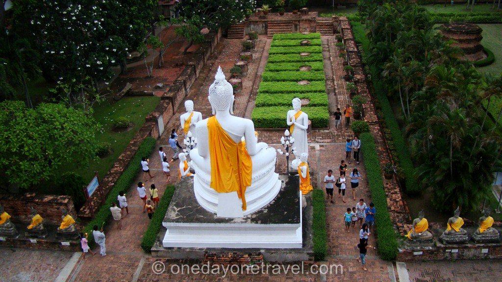 Céremonie Bouddhiste Ayutthaya Expérience insolite Thailande blog voyage