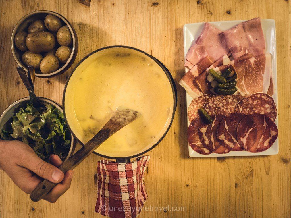 Chalet Berger matouilles Savoie Alpes gastronomie