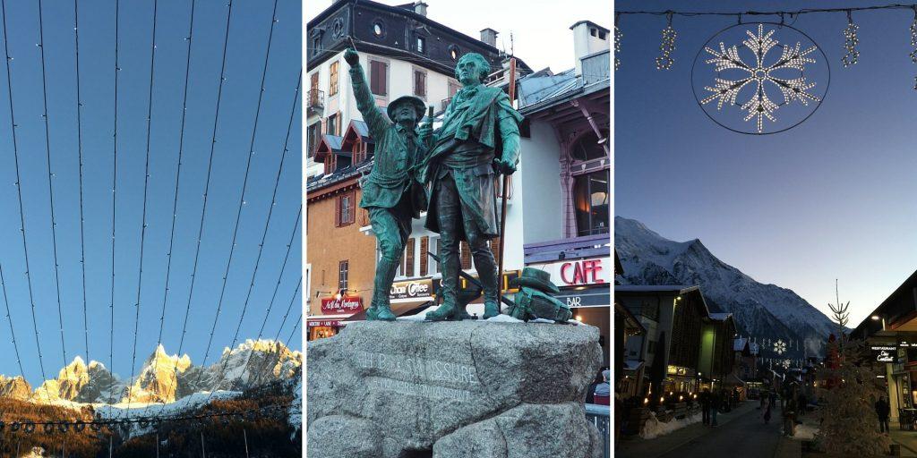 Chamonix centre Alpes Blog Voyage