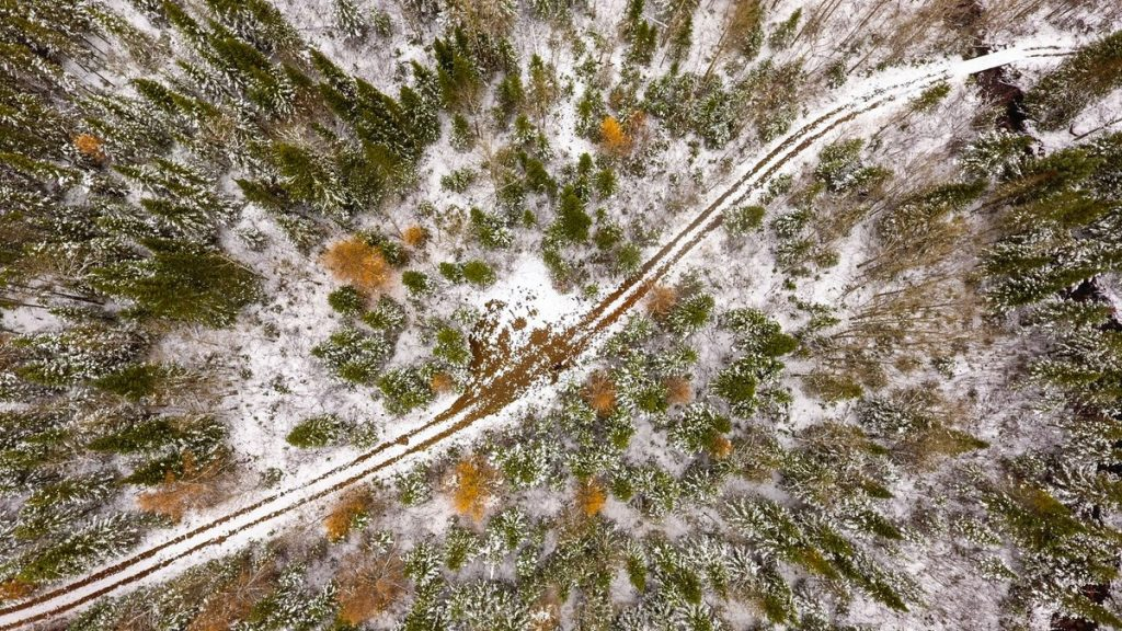 Charlevoix sentier neige