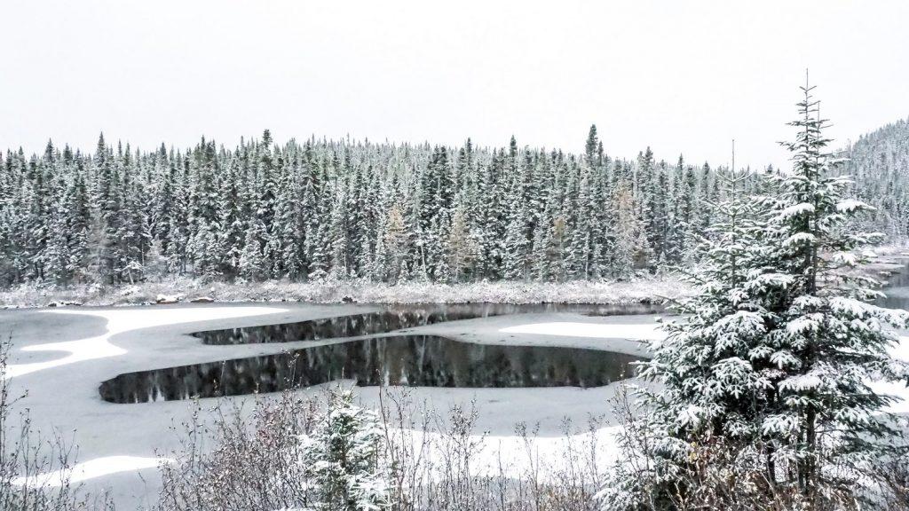 Charlevoix lac gelé