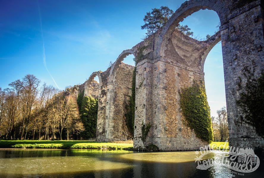 Château de Maintenon aqueduc