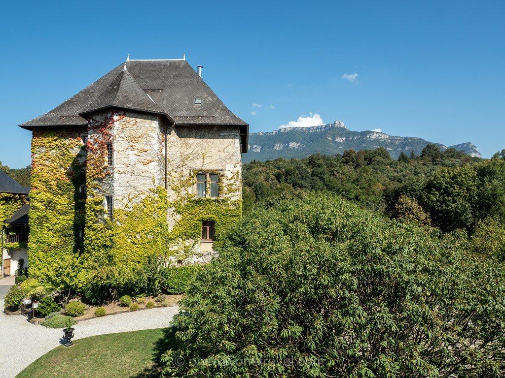 Chateau de Candie en Savoie