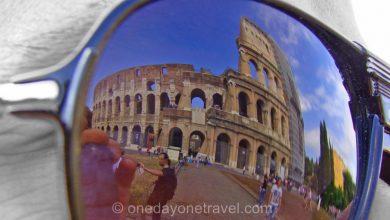 Colisée de Rome reflexion