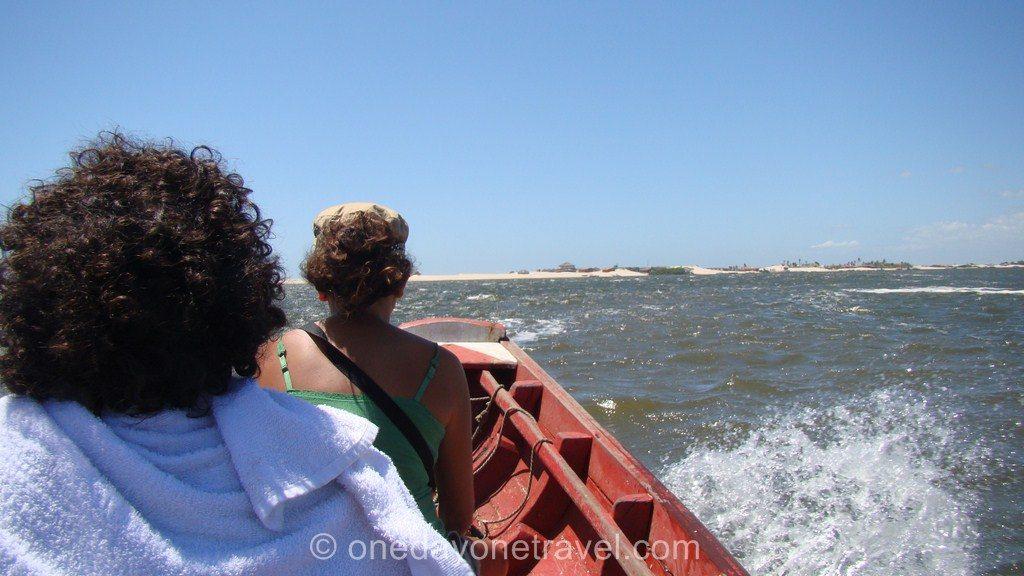 Comment aller à Jericoacoara bateau atins cabure