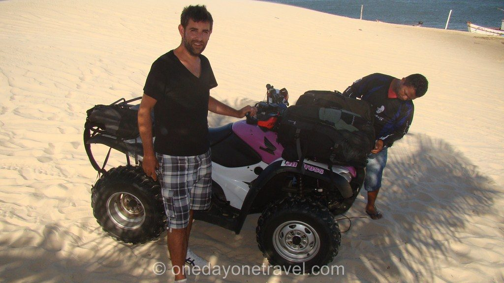 Comment aller à Jericoacoara buggy Cabure Paulino Neves