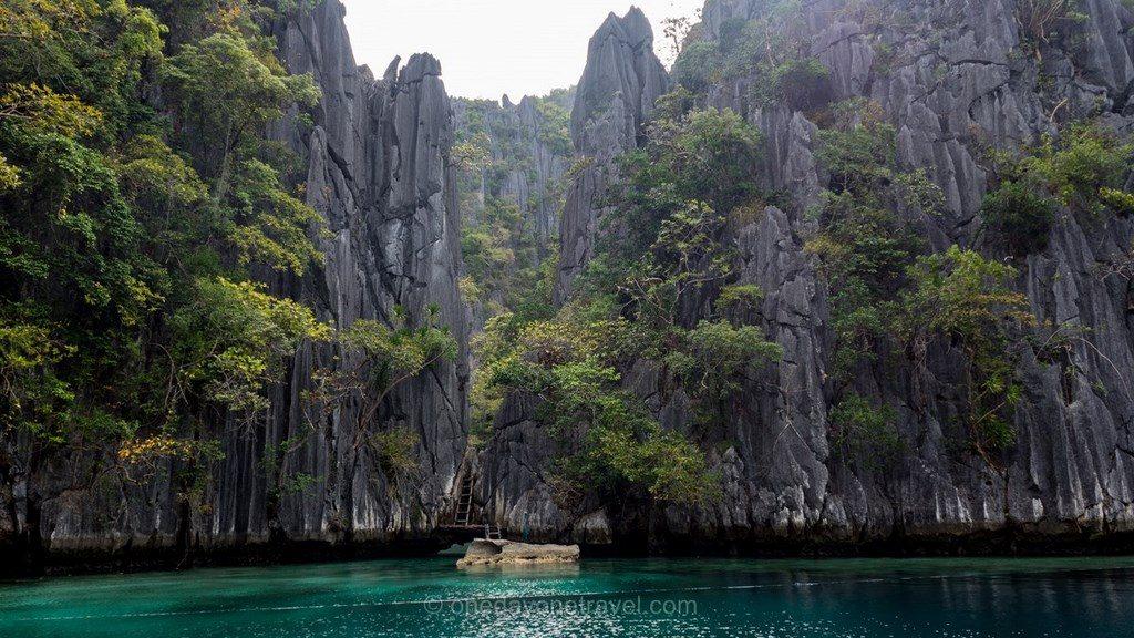 Coron lagon Philippines
