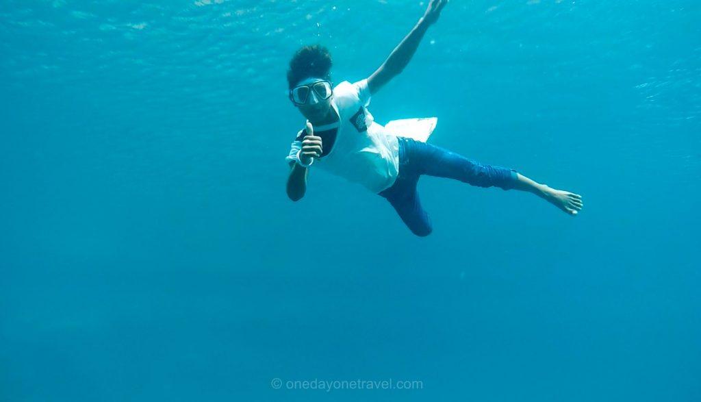 Philippines apnée fond marin