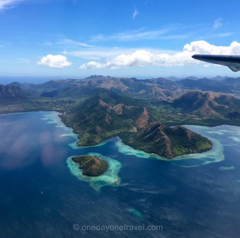 Coron Philippines Island vue avion