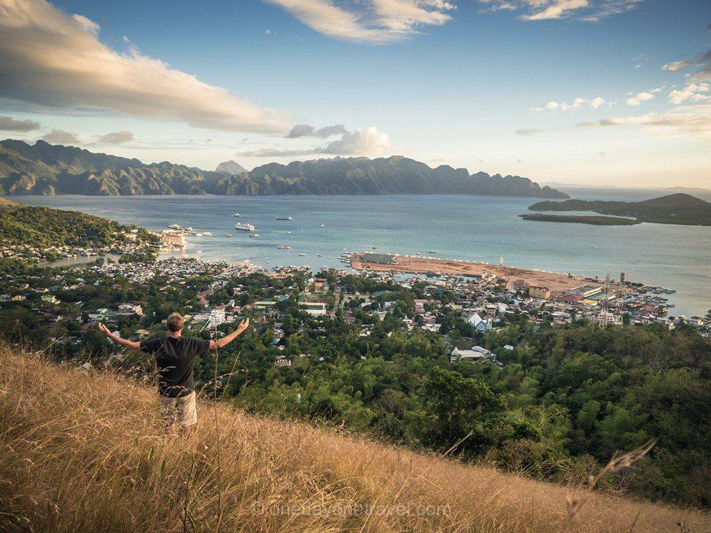 Coron Philippines vue Mont Typias