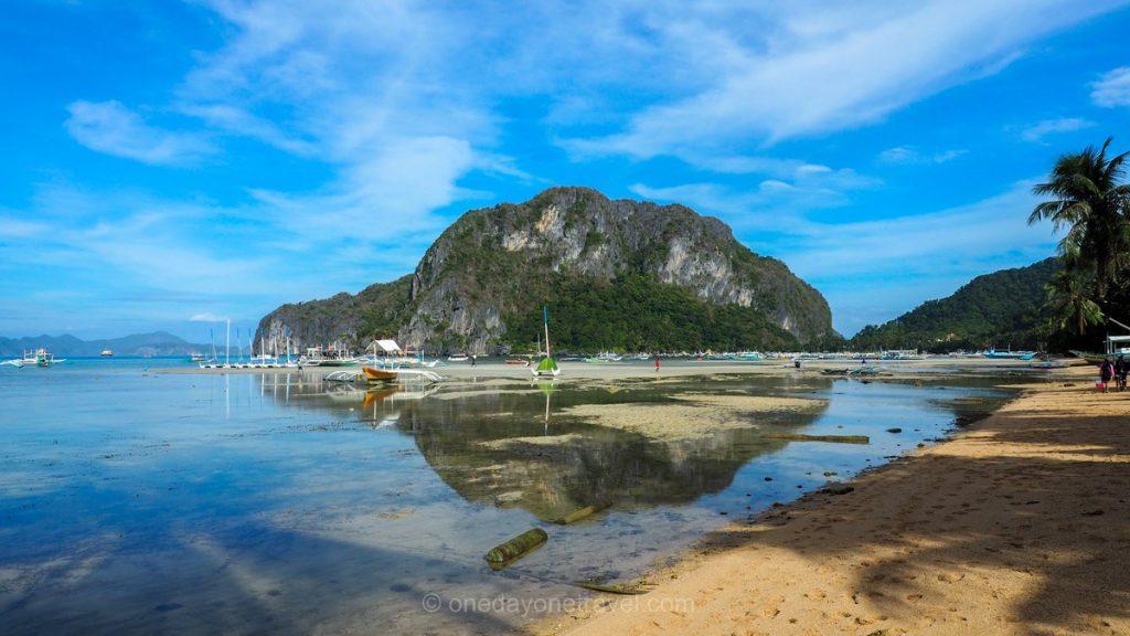 Plage El Nido Corong Corong Philippines