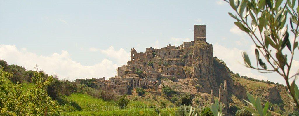 Craco Matera blog voyage