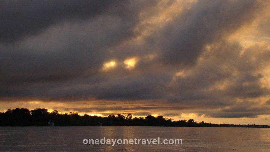 Croisière Amazone sunrise