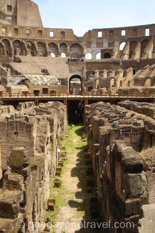 Amphithéâtre du Colisée de Rome