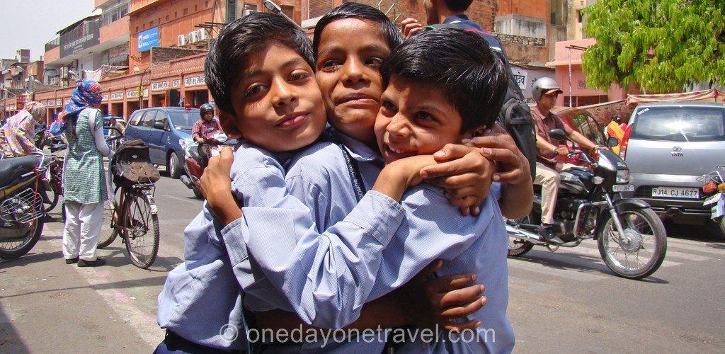 Destination de rêve Inde Rajasthan enfants indiens