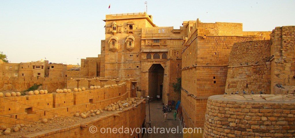 Sites touristiques incontournables Jaisalmer rajasthan citadelle