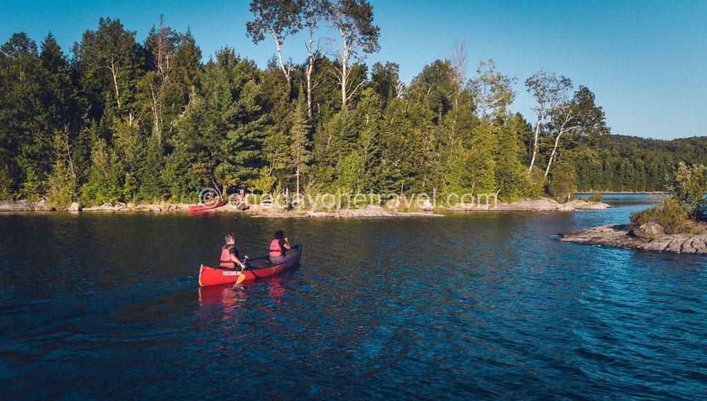 Séjours hors des sentiers battus Lac du Poisson Blanc ile déserte