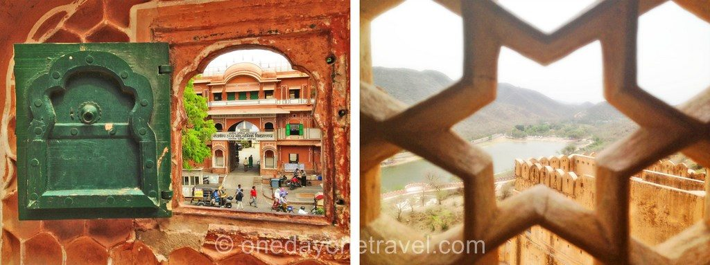 Sites touristiques incontournables Jaipur vue Inde rajasthan