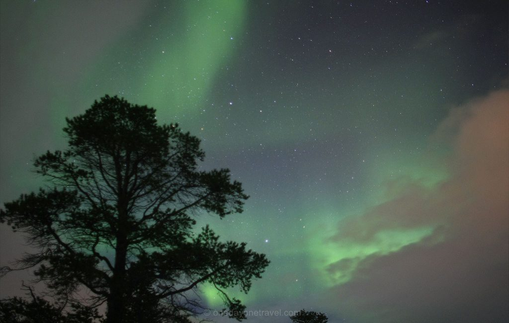 Destination de rêve Suède aurore boreale laponie