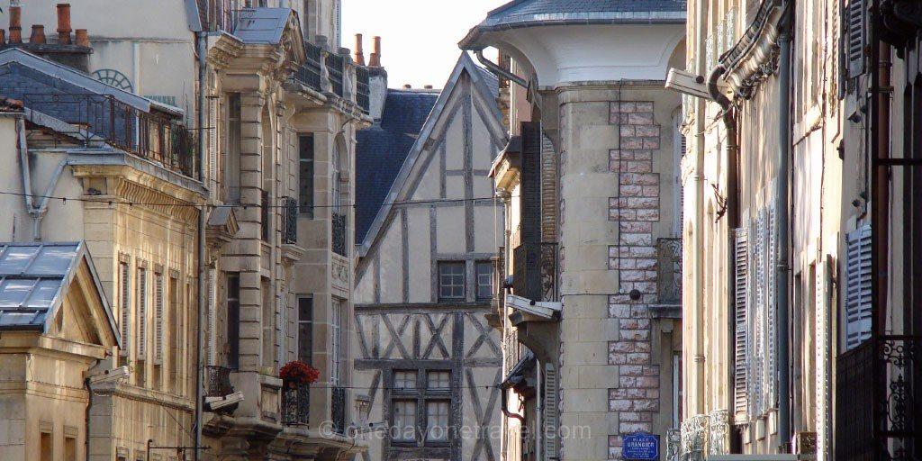 Dijon vieux centre Bourgogne