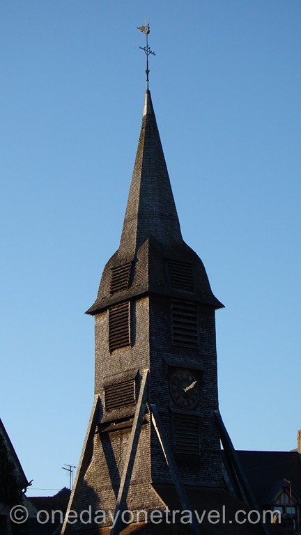 Église Sainte-Catherine à Honfleur en Normandie