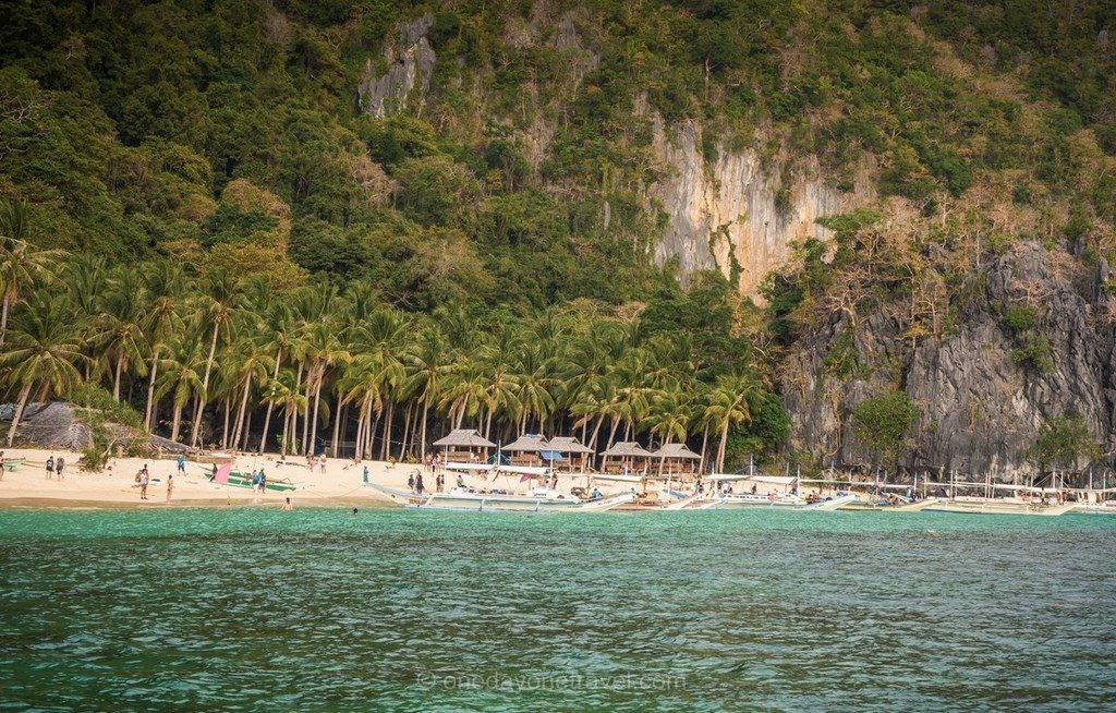 El Nido Island 7 commando beach