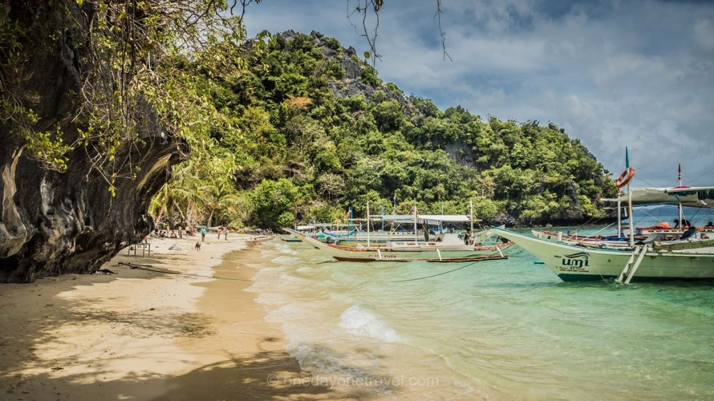 El Nido Island Hopping charter Skippers plage de rêve