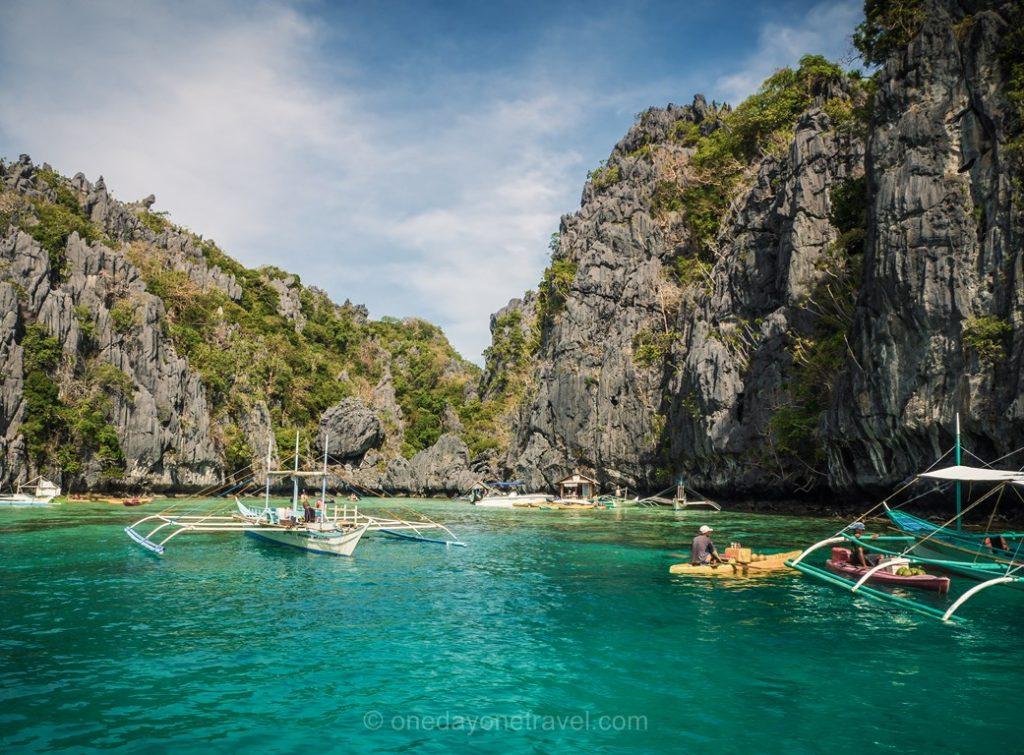 El Nido Island hopping big lagoon bangka