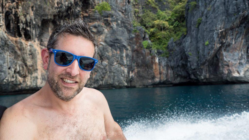 El Nido tour en bateau Franck Philippines