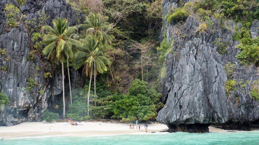 El Nido Philippines plage palmier