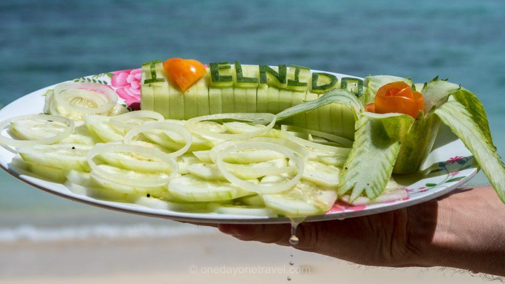 El Nido island hopping repas