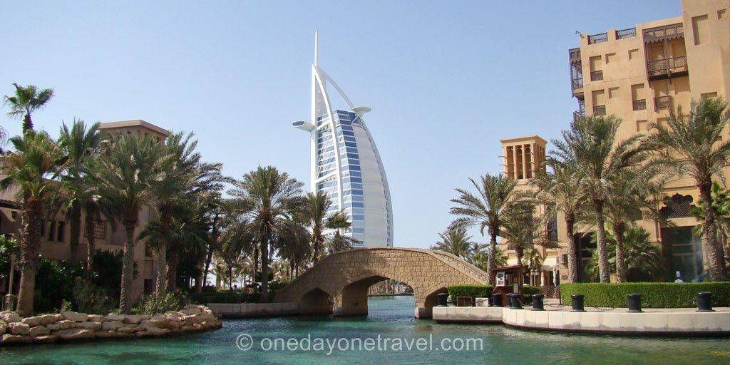 Escale à Dubai Burj al arab